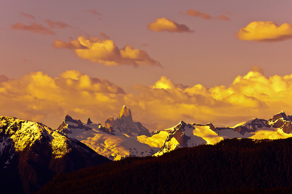 Devils Thumb peak, Stikine Icecap region, Boundary Ranges, near Petersburg, Alaska USA