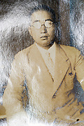 portrait of a adult man Japan ca 1940s