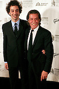 Albert Hammond Jr. and Albert Hammond. Sr at The 2008 Songwriters Hall of Fame Awards Induction Ceremony held at The Marriott Marquis Hotel on June 19, 2008 ..The Songwriters Hall of Fame celebrates songwriters, educates the public with regard to their achievements, and produces a spectrum of professional programs devoted to the development of new songwriting talent through workshops, showcases and scholarships. The sonwriters Hall of Fame was founded in 1969 by songwriter Johnny Mercer and publishers Abe Olman and Howie Richardson