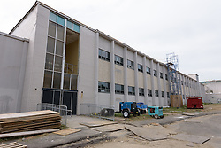 Central High School Bridgeport CT Expansion & Renovate as New. State of CT Project # 015-0174. One of 82 Photographs of Progress Submission 19, 31 August 2016 Exterior