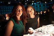 JEAN RYAN; JANET MONTGOMERY;, Grey Goose Winter Ball to Benefit the Elton John AIDS Foundation. Battersea park. London. 29 October 2011. <br /> <br />  , -DO NOT ARCHIVE-© Copyright Photograph by Dafydd Jones. 248 Clapham Rd. London SW9 0PZ. Tel 0207 820 0771. www.dafjones.com.