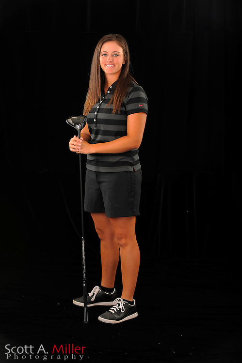 Kendall Dye during a portrait shoot prior to the Symetra Tour's Florida's Natural Charity Classic at the Lake Region Yacht and Country Club on March 21, 2012 in Winter Haven, Fla. ..©2012 Scott A. Miller.