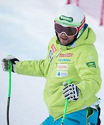 17.01.2017, Hahnenkamm, Kitzbühel, AUT, FIS Weltcup Ski Alpin, Kitzbuehel, Abfahrt, Herren, Streckenbesichtigung, im Bild Bostjan Kline (SLO) // Bostjan Kline of Slovenia during the course inspection for the men's downhill of FIS Ski Alpine World Cup at the Hahnenkamm in Kitzbühel, Austria on 2017/01/17. EXPA Pictures © 2017, PhotoCredit: EXPA/ Johann Groder