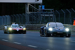 June 17, 2018 - Le Mans, Sarthe, France - Toyota Gazoo Racing Toyota TS050 Hybrid Driver FERNANDO ALONSO (ESP) in action during the 86th edition of the 24 hours of Le Mans 2nd round of the FIA World Endurance Championship at the Sarthe circuit at Le Mans - France (Credit Image: © Pierre Stevenin via ZUMA Wire)