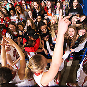HIGH SCHOOL GIRLS BASKETBALL DIAA CHAMPIONSHIP 2017 - Mar 10 - Ursuline defeated Caravel 54-32