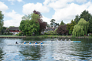 Maidenhead. Berkshire. United Kingdom. General view, JW4X.  racing at the 2017 Maidenhead Junior Regatta  River Thames. <br /> <br /> [&copy;Peter SPURRIER/Intersport Images] Sunday. 14.05.2017