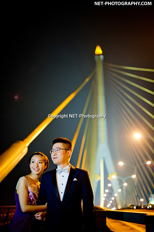 Pre-Wedding (Engagement Session) on Rama VIII Suspension Bridge in Bangkok, Thailand.<br /> <br /> <br /> Photo by NET-Photography<br /> Thailand Professional Documentary Wedding Photographer<br /> <br /> Read our blog post about this pre-wedding shoot at https://thailand-wedding-photographer.com/ayutthaya-bangkok-pre-wedding-engagement-session-prenuptial/<br /> <br /> <br /> https://thailand-wedding-photographer.com<br /> info@net-photography.com<br />   <br /> LIKE US ON FACEBOOK !<br /> https://www.facebook.com/thailandweddingphotographer/<br /> <br /> <br /> FOLLOW US ON INSTAGRAM !<br /> https://www.instagram.com/net__photography/