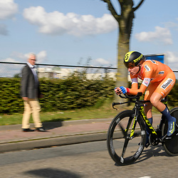 31-08-2017: Wielrennen: Boels Ladies Tour: Roosendaal<br /> Annemiek van Vleuten wins de time trail at Roosendaal and keeps the lead in the general classification