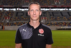 02.07.2015, Esprit Arena, Duesseldorf, GER, 2. FBL, Fortuna Duesseldorf, Fototermin, im Bild Physiotherapeut Carsten Fiedler ( Fortuna Duesseldorf / Portrait ) // during the official Team and Portrait Photoshoot of German 2nd Bundesliga Club Fortuna Duesseldorf at the Esprit Arena in Duesseldorf, Germany on 2015/07/02. EXPA Pictures © 2015, PhotoCredit: EXPA/ Eibner-Pressefoto/ Thienel<br /> <br /> *****ATTENTION - OUT of GER*****