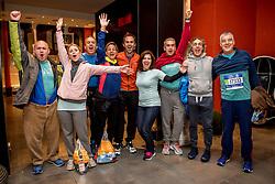 05-11-2017 USA: NYC Marathon We Run 2 Change Diabetes day 3, New York<br /> De dag van de marathon, 42 km en 195 meter door de straten van Staten Island, Brooklyn, Queens, The Bronx en Manhattan / Team Spain met Olga