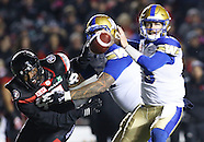2016 CFL: NOV 04 Blue Bombers at Redblacks