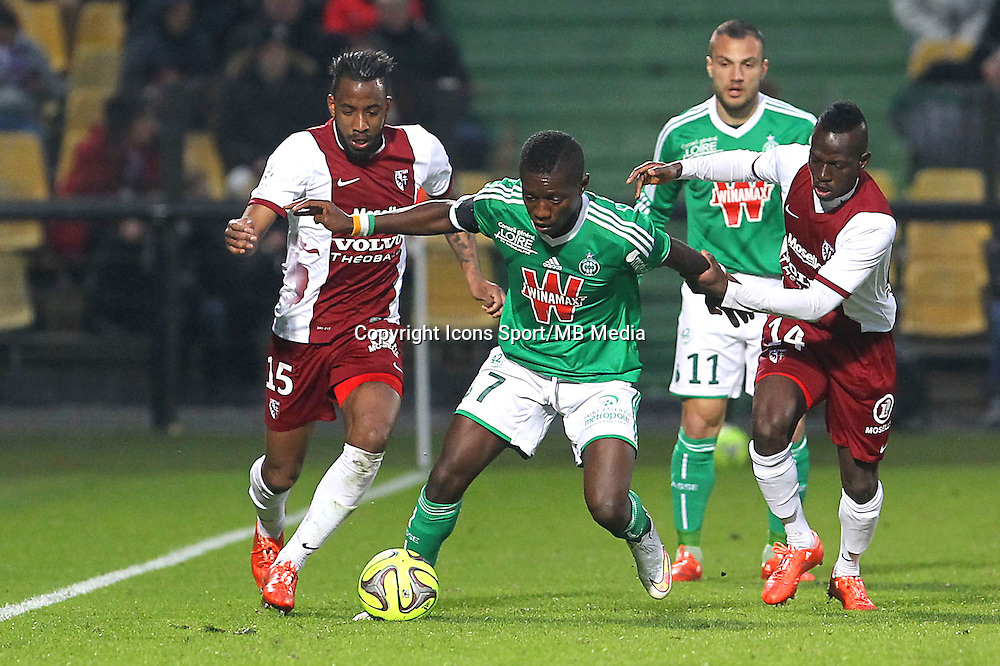 Max Alain GRADEL - 14.03.2015 - Metz / Saint Etienne - 29e journee Ligue 1<br /> Photo : Fred Marvaux / Icon Sport
