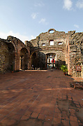 Ruins of Santo Domingo church at Old Quarters, Panama city, Panama, Central America