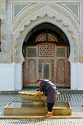 FEZ, MOROCCO - 1ST FEBRUARY 2018 - Al-Kairouine Mosque and University, Fez Medina, Morocco.<br />