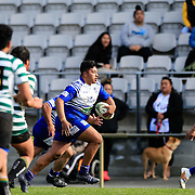 Action during the  Colts rugby union game played between Northern United v OBU , on 28 July 2018, at Jerry Collins Stadium, Porirua, New  Zealand.   OBU won 48-17.