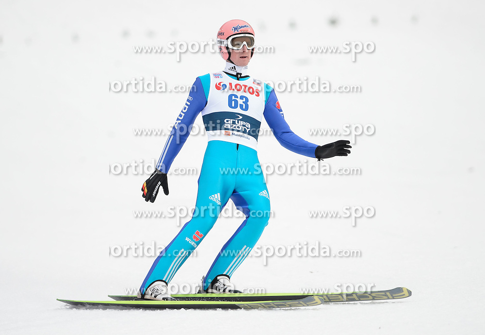 18.01.2015, Wielka Krokiew, Zakopane, POL, FIS Weltcup Ski Sprung, Zakopane, im Bild SEVERIN FREUND // during men's Large Hill competition of FIS Ski Jumping world cup at the Wielka Krokiew in Zakopane Wielka Krokiew in Zakopane, Poland on 2015/01/18. EXPA Pictures &copy; 2015, PhotoCredit: EXPA/ Newspix/ RAFAL OLEKSIEWICZ<br /> <br /> *****ATTENTION - for AUT, SLO, CRO, SRB, BIH, MAZ, TUR, SUI, SWE only*****