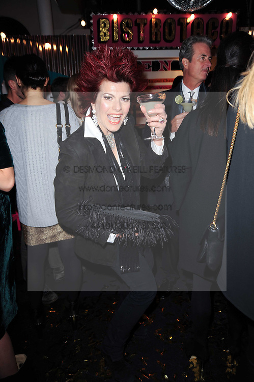 CLEO ROCOS at a party to celebrate the launch of Lulu & Co held at the Fifth Floor Cafe, Harvey Nichols, Knightsbridge, London on 21st October 2010.