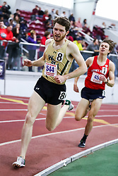 ECAC/IC4A Track and Field Indoor Championships<br /> 1000 meters, William & Mary, Christopher Short