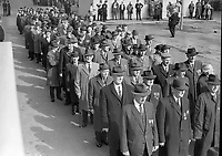 Procession as part of the 1916 Commemorations in 1966. (Part of the Independent Newspapers Ireland/NLI Collection)