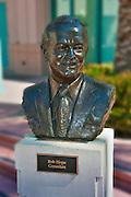 Bob Hope, Comedian, Academy of Television Arts & Sciences, Celebrity, Bronze, Sculptures, Sculptural Works, Public Art, Display, North Hollywood, CA