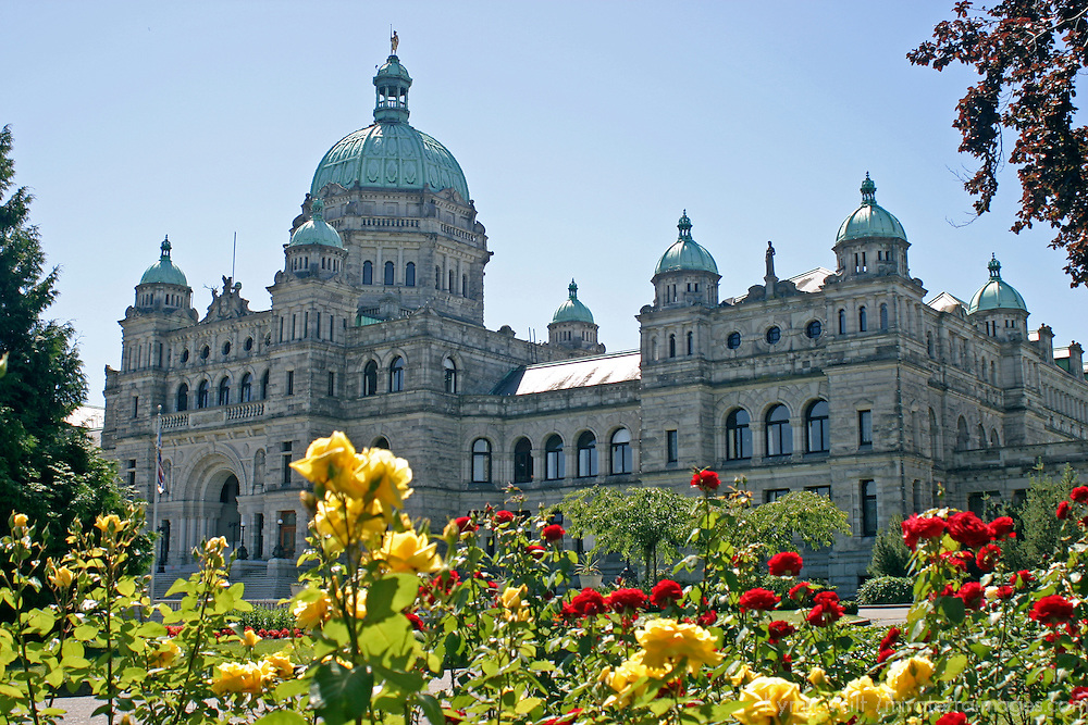 The Fairmont Empress Hotel in Victoria, British Columbia.