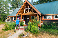 BC00648-00...MONTANA - The North Fork Hostel in Polebridge.