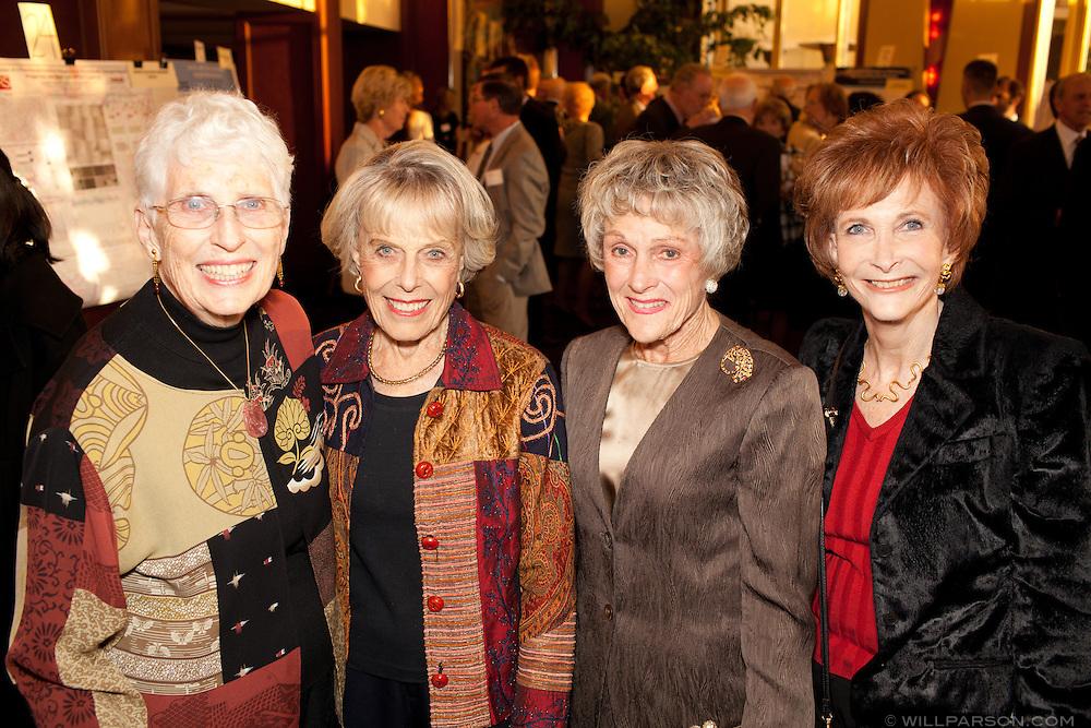 Barbara Hartung, Joanne Herrin, Barbara Brown and Linda Copson.