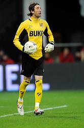 03-04-2010 VOETBAL: AZ - FC UTRECHT: ALKMAAR<br /> FC utrecht verliest met 2-0 van AZ / Joey Didulica<br /> ©2009-WWW.FOTOHOOGENDOORN.NL