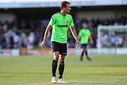 Forest Green Rovers Christian Doidge(9) during the Pre-Season Friendly match between Forest Green Rovers and Leeds United at the New Lawn, Forest Green, United Kingdom on 17 July 2018. Picture by Shane Healey.