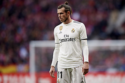 February 9, 2019 - Madrid, Madrid, Spain - Gareth Bale of Real Madrid during the week 23 of La Liga between Atletico Madrid and Real Madrid at Wanda Metropolitano stadium on February 09 2019, in Madrid, Spain. (Credit Image: © Jose Breton/NurPhoto via ZUMA Press)