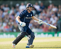 EDINBURGH, SCOTLAND - JUNE 12: Scotland's Michael Leask in action in the first of 2 Twenty20 Internationals at the Grange Cricket Club on June 12, 2018 in Edinburgh, Scotland. (Photo by MB Media/Getty Images)