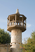 A deserted mosque at the Hermon Stream Nature reserve (Banias) Golan Heights Israel The