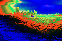 Abstract design image Wall street World Trade center twin towers pre 9/11 death destruction terror terrorist terrorism