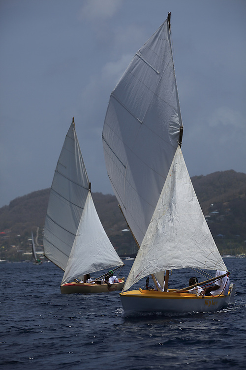 Local Caribbean boats sailed in the 2010 Bequia Easter Regatta.