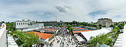 Ambiance global view during the Roland Garros French Tennis Open 2018, day 1, on May 27, 2018, at the Roland Garros Stadium in Paris, France - Photo Pierre Charlier / ProSportsImages / DPPI