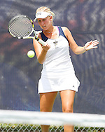 FIU Tennis Vs. Fresno State on Senior Day, honoring Lisa Johnson and Christine Seredni.  Frames were created by Roy Viera.