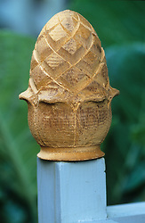 Carved finial