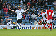 Paul Green scores the only goal of the game for Rotherham United - Dundee v Rotherham United - pre-season friendly at Dens Park <br /> <br />  - &copy; David Young - www.davidyoungphoto.co.uk - email: davidyoungphoto@gmail.com