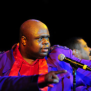 Bruce Williamson performing with The Temptations at The Music Hall in Portsmouth, NH