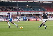 Dundee&rsquo;s Kane Hemmings mises a great chance  - Dundee v Kilmarnock, Ladbrokes Scottish Premiership at Dens Park<br /> <br />  - &copy; David Young - www.davidyoungphoto.co.uk - email: davidyoungphoto@gmail.com