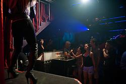 Drag show in Mixwell Bar in Bali.