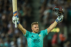 3 Aug 2018 - Surrey v Middlesex in the Vitality T20 Blast cricket match at the Kia Oval.