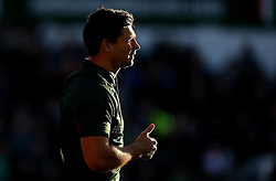 Ben Youngs of Leicester Tigers warms up - Mandatory by-line: Robbie Stephenson/JMP - 23/10/2016 - RUGBY - Welford Road Stadium - Leicester, England - Leicester Tigers v Racing 92 - European Champions Cup