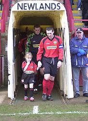 MASCOT FOR CHESTER GAME 4/1/03 Kettering Town v Chester Rockingham Road, 4th January 2003