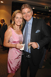SIR & LADY RICHARD OSBORN Bt. at an evening of private shopping in aid of Elizabeth Fitzroy Support at Tiffany & Co, 145 Sloane Street, London on 14th May 2008.<br /><br />NON EXCLUSIVE - WORLD RIGHTS