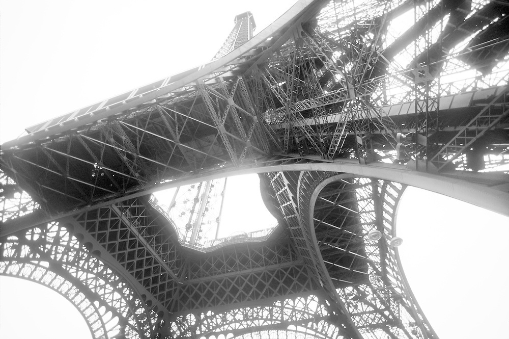 from the base of the Eiffel Tower