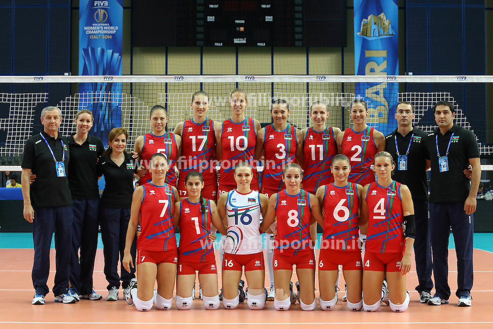 Azerbaijan team photo