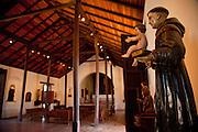 Interior of the Convento de Porta Coeli built in 1609 by the Dominican Order in San German Puerto Rico