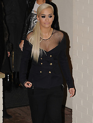 Rita Ora leaving the 'X Factor' at Fountain Studios in London, UK. 08/11/2015<br />BYLINE MUST READ : GOTCHAIMAGES.COM<br /><br />Copyright by © Gotcha Images Ltd. All rights reserved.<br />Usage of this image is conditional upon the acceptance <br />of Gotcha Images Ltd, terms and conditions available at<br />www.gotchaimages.com