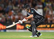 Tom Bruce.<br /> Pakistan tour of New Zealand. T20 Series. 3rd Twenty20 international cricket match, Bay Oval, Mt Maunganui, New Zealand. Sunday 28 January 2018. © Copyright Photo: Andrew Cornaga / www.Photosport.nz